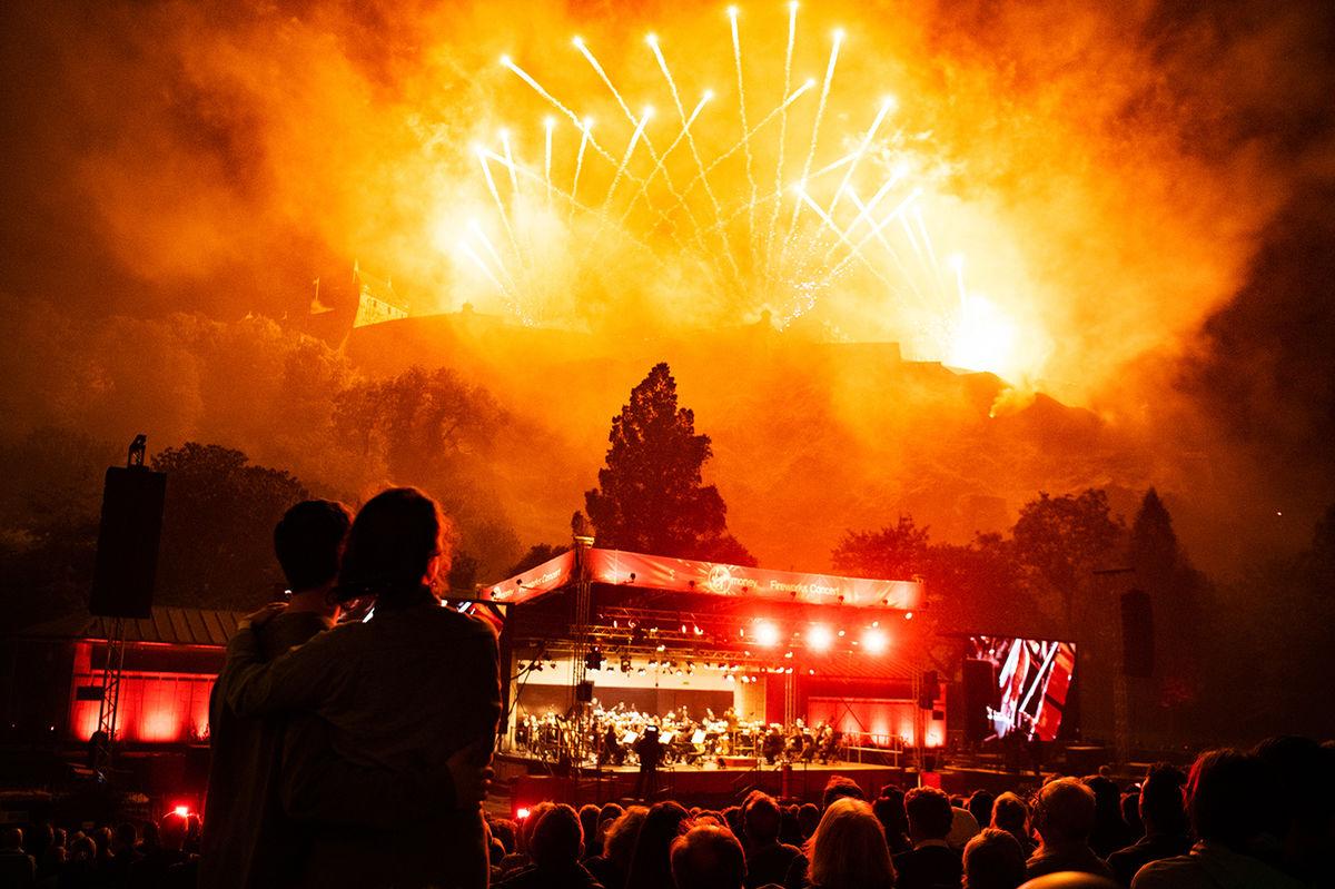 Virgin Money Fireworks Concert   Photo: Gaelle Beri