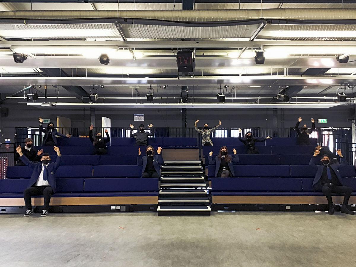 Leith Academy Drama Studio Seating Bank 1 © Edinburgh International Festival