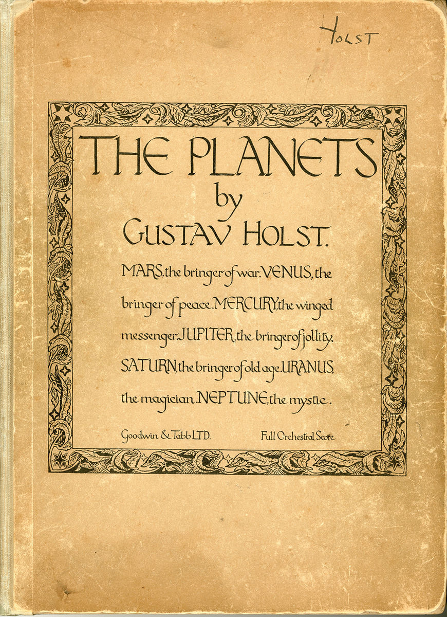 The Planets Score Cover
